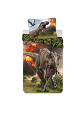 Jurassic World Duvet cover Volcano 140 x 200 Cotton