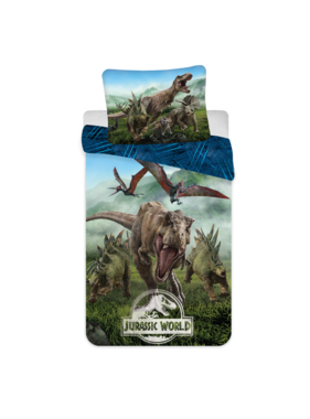 Jurassic World Dekbedovertrek Forest 140 x 200 Katoen
