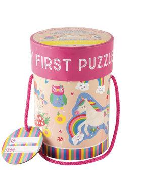 Floss & Rock Puzzles Unicorn 4 pieces