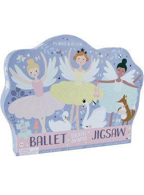 Floss & Rock Ballet Puzzel 80 st.