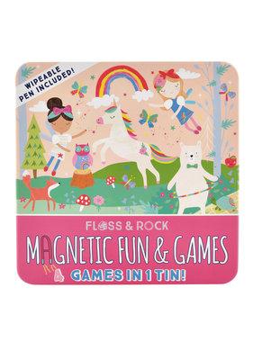Floss & Rock Games box Rainbow Fairy 4-in-1