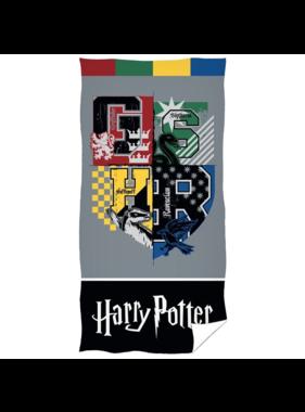 Harry Potter Beach towel Varsity Hogwarts 70 x 140 cm Cotton