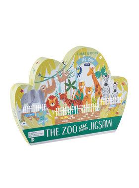 Floss & Rock Zoo Puzzle 80 pcs.