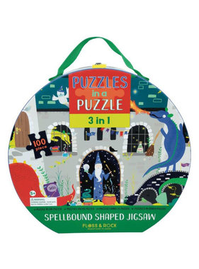 Floss & Rock 3-in-1 Spellbound Puzzle 100 pcs.