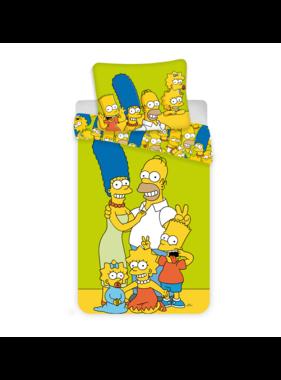 The Simpsons dekbedovertrek Family 140 x 200 cm 70 x 90 cm katoen