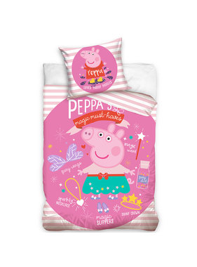 Peppa Pig Duvet cover Magic Must-Haves 140 x 200 Cotton