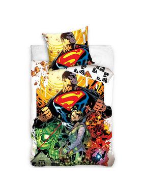 Superman Duvet cover Comic Hero 140 x 200 Cotton