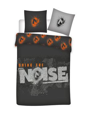 Nerf Dekbedovertrek Bring the Noise 140 x 200 Bio Katoen
