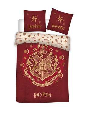 Harry Potter Dekbedovertrek 140 x 200 Bio Katoen