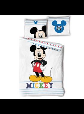 Disney Mickey Mouse Dekbedovertrek 140 x 200 Bio Katoen