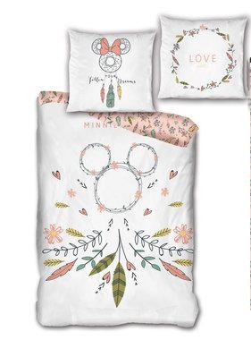 Disney Minnie Mouse Dekbedovertrek Dromenvanger 140 x 200 Bio Katoen