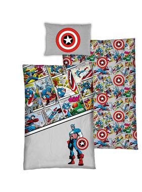 Marvel Avengers Duvet cover Comics 140 x 200 Bio Cotton