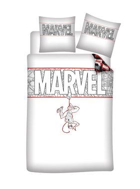 Marvel Comics Dekbedovertrek Spider-Man 140 x 200 Bio Katoen