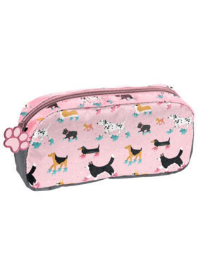 Animal Pictures Pencil case Dogs 20 cm