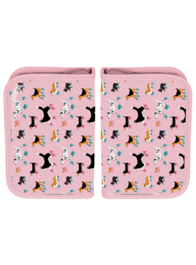 Animal Pictures Gevuld Etui Dogs - 22 st.