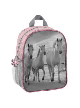 Animal Pictures Toddler backpack Horses 28 x 22 cm