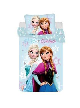 Disney Frozen Dekbedovertrek Elsa & Anna 140 x 200 Katoen