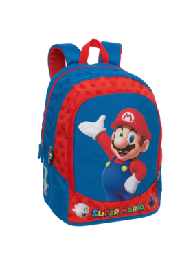 Super Mario Rugzak Hello 42 cm