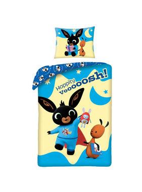 Bing Bunny Dekbedovertrek Hoppity 140 x 200 cm + 70 x 90 cm katoen