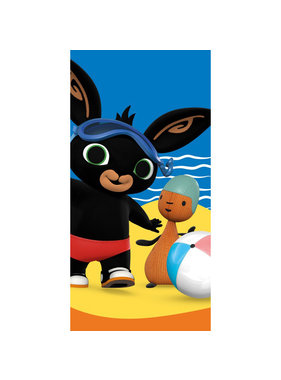 Bing Bunny Beach towel Beach 70 x 140 cm Cotton