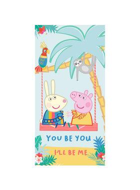 Peppa Pig Strandlaken You Be You 70 x 140 cm Katoen