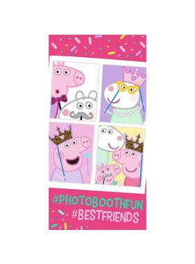 Peppa Pig Strandlaken Photobooth Fun 70 x 140 cm Katoen