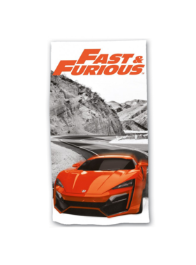 The Fast and the Furious Strandlaken 70 x 140 cm Katoen