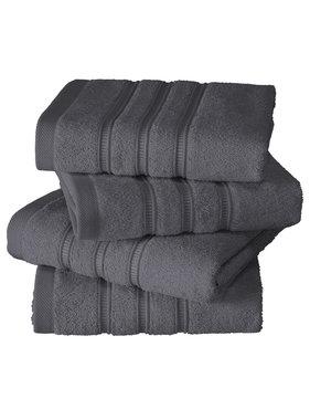 De Witte Lietaer luxury kitchen towel Dolce dark gray 4 pieces 60x60 cm