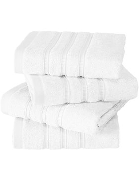 De Witte Lietaer luxe keukenhanddoek Dolce white 4 stuks 60x60 cm