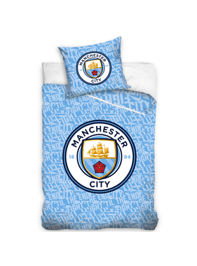 Manchester City Duvet cover Glow in the Dark 140 x 200 Cotton