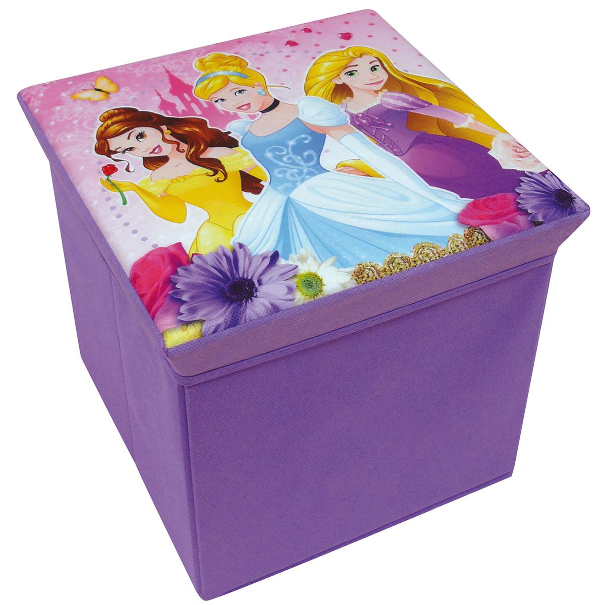 Disney Princess Toy box Stool Foldable 31 x 31 x 29 cm