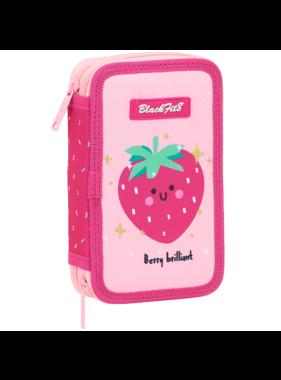 BlackFit8 Filled Pencil Case Strawberry - 28 pcs.