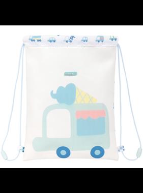 Voertuigen Junior Gym Bag 34 x 26 cm