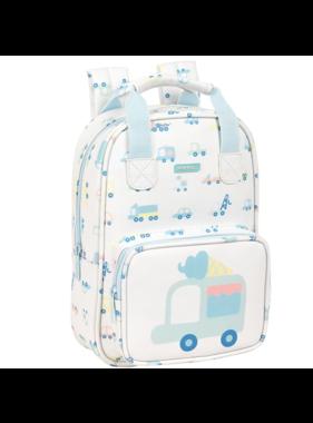 Voertuigen Toddler backpack 28 x 20 cm