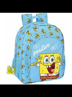 SpongeBob Backpack Positive Vibes 38 x 32 cm