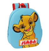 Disney The Lion King Toddler backpack 3D - 32 x 27 x 10 cm - Polyester