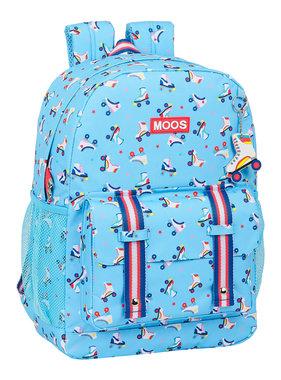 """MOOS Laptop Backpack 15.6 """"Rollers 43 x 32 cm"""