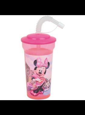 Disney Minnie Mouse Drinkfles met rietje 400 ml