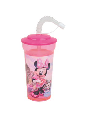 Disney Minnie Mouse Drinking bottle with straw 400 ml