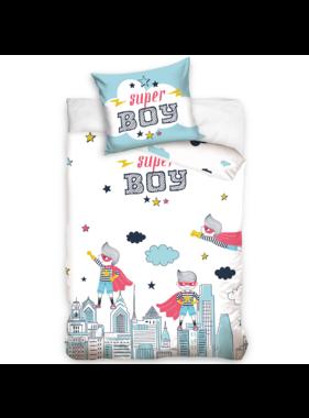 Super Boy Duvet cover Skyline 140 x 200 Cotton