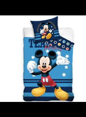 Disney Mickey Mouse Duvet cover Team 140 x 200 Cotton