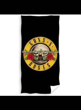 Guns n Roses Beach towel Logo 70 x 140 cm Cotton