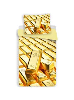 Goud Duvet cover Gold Bars 140 x 200 Polyester