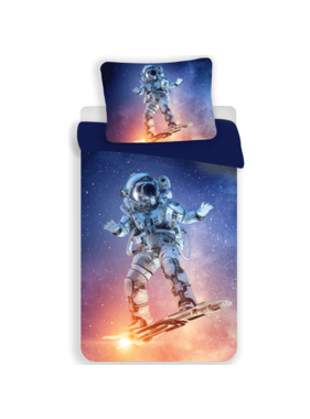 Astronaut Duvet cover Spaceboard Champion 140 x 200 Polyester