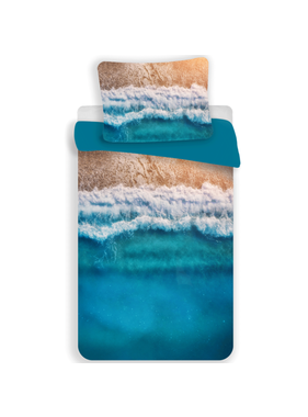 Beach Duvet cover Tropical Holiday 140 x 200 Polyester