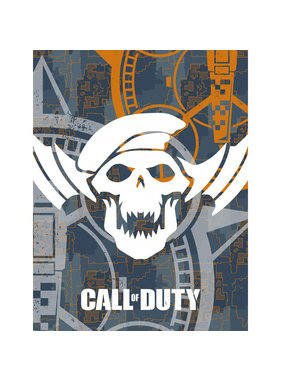 Call of Duty Fleece blanket Skull 130 x 170 cm