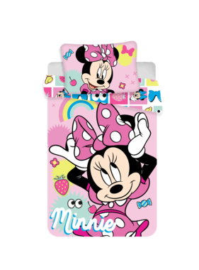 Disney Minnie Mouse BABY Duvet cover Pink Bow 100 x 135 cm