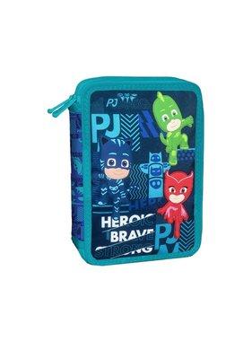 PJ Masks Filled Pencil Case Heroic - 31 pcs.