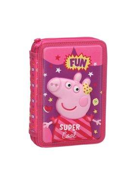Peppa Pig Filled Pencil Case Fun - 31 pcs.