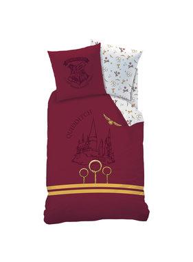 Harry Potter Duvet cover Quidditch 140 x 200 Cotton